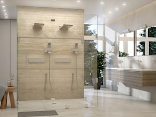 Diseño de Baño Moderno - Miami Brickell Baños de estilo moderno de Gabriela Afonso Moderno