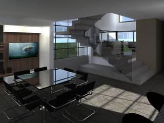 CASA H Comedores modernos de BM3 Arquitectos Moderno