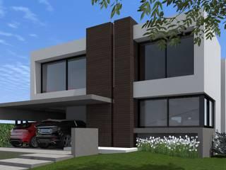 Fachada de BM3 Arquitectura Moderno