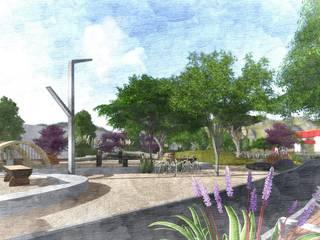 Remodelación Parque Vecinal de Paisare - Paisajismo y arquitectura