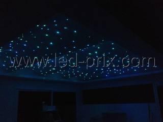 Créer un ciel étoilé en fibre optique lumineuse par LED-PRIX.fr