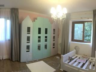 Ambientación de Habitación para Niñas por Kaa Interior de Kaa Interior | Arquitectura de Interior | Santiago Moderno