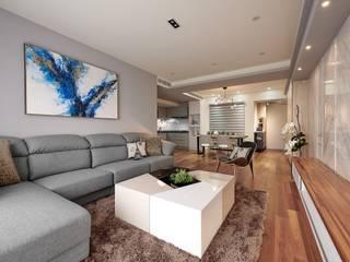 غرفة المعيشة تنفيذ 趙玲室內設計