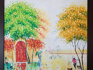 custom made oil paintings :   by BhuviDesignStudio