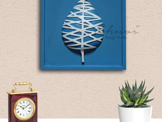 wall accents:   by BhuviDesignStudio