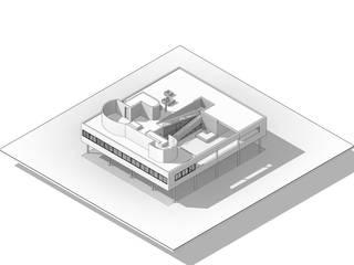 빌라 사보아(Villa Savoye) BIM강의 커리큘럼: ArkBox Architects의