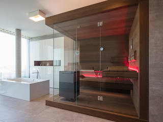Inspiration: Design sauna corso sauna manufaktur gmbh Modern style bathrooms Glass