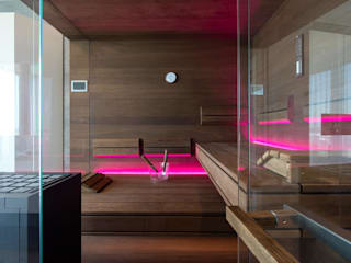modern Bathroom by corso sauna manufaktur gmbh