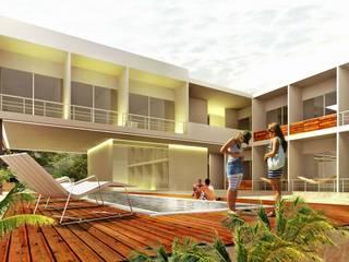 Hotel Aqua de Espacio Interior Moderno