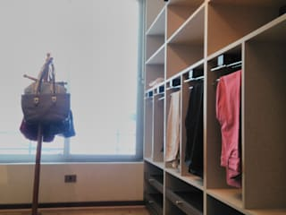 Muebles abiertos: Walk in closet de estilo  por Tu Obra Maestra
