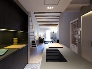 CREAPROJECTS. Interior design. Built-in kitchens