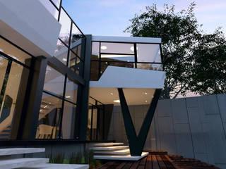 Terrace by SKYLINE ARCHITECTS GROUP, Modern