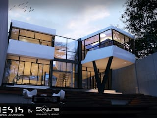 Houses by SKYLINE ARCHITECTS GROUP, Modern