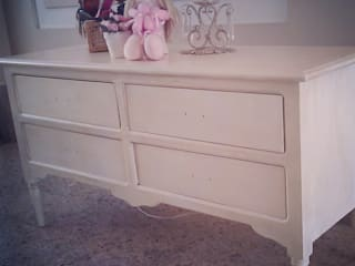 Reciclado en panel de madera Dormitorios infantiles clásicos de ANADECO - Decoradora y Diseñadora de Interiores - La Plata Clásico