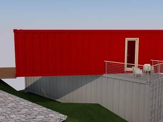 Casa Container (Modelo) Casas modernas por Engenharia expressa Moderno
