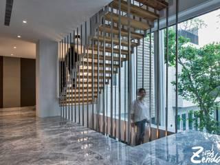 Escaleras de estilo  por Zendo 深度空間設計