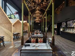 陽光皇后Sunny Queen:  餐廳 by Zendo 深度空間設計,