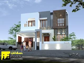 Desain rumah Oleh Ikhwan desain Modern