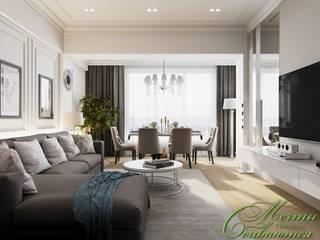 Salon classique par Компания архитекторов Латышевых 'Мечты сбываются' Classique