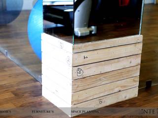 Pillar design:  Gym by intent interior