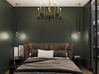 Спальня Спальня в стиле минимализм от VB-Design Минимализм