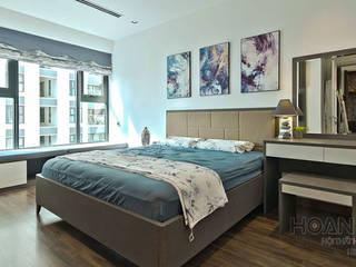 Mẫu bàn trang điểm phòng ngủ đẹp hiện đại: hiện đại  by Thương hiệu Nội Thất Hoàn Mỹ, Hiện đại