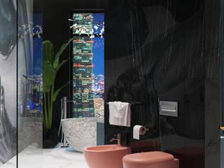 Современная ванная комната для сибаритов: Ванные комнаты в . Автор – Архитектурное бюро Оксаны Костюченко & C
