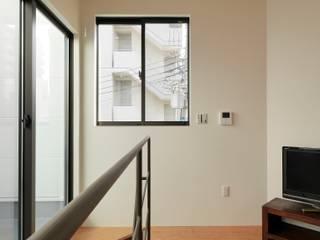 一級建築士事務所 Coo Planning Minimalist bedroom Wood Transparent