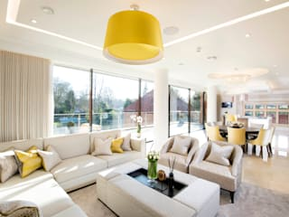Classical contemporary family home, Sutton Coldfield :   by Design by UBER