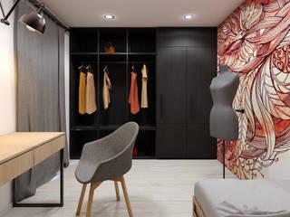 Pokój nastolatki: styl , w kategorii Sypialnia zaprojektowany przez MACZ Architektura - Architekt wnętrz Kraków