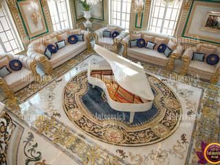 رہنے کا کمرہ  by Luxury Antonovich Design