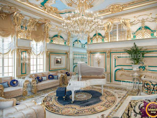 ​Interiors of absolute happiness from Katrina Antonovich:  Living room by Luxury Antonovich Design