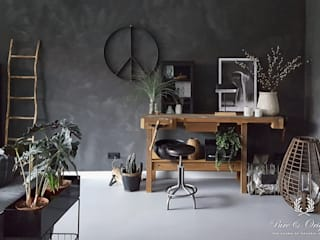 Pure & Original Salones de estilo moderno