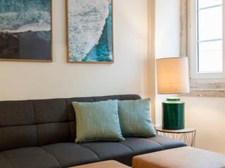 Sala Comum:   por Traço Magenta - Design de Interiores