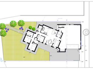 Planta piso terreo:   por Teresa Ledo, arquiteta