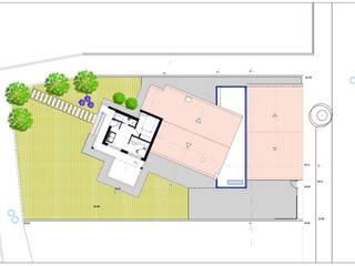 Planta piso 1:   por Teresa Ledo, arquiteta