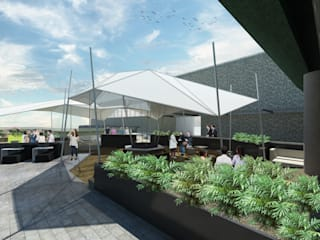 Arquitecto Rafael Viana Balbi - CDMX + Rio de Janeiro Modern event venues White