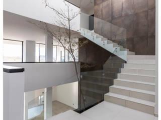 Escaleras de estilo  por Excelencia en Diseño, Minimalista