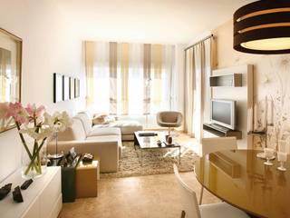Pancho R. Ochoa Interiorismo Living roomAccessories & decoration Copper/Bronze/Brass Amber/Gold