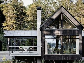 Casas escandinavas de Paul Marie Creation Garden Design & Swimmingpools Escandinavo