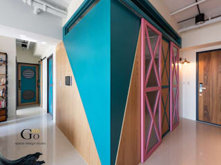 Dressing room by 勁懷設計, Minimalist