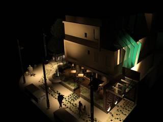 Edifico España: Condominios de estilo  por ESTUDIO KULUMAK
