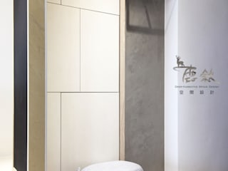 Skandinavischer Flur, Diele & Treppenhaus von 鹿敘空間設計 Skandinavisch