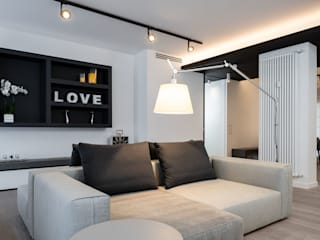 Modern living room by Patrizia Burato Architetto Modern