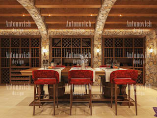 Dining room by Luxury Antonovich Design,
