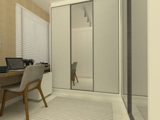 Modern dressing room by Arquiteca Projetos Modern