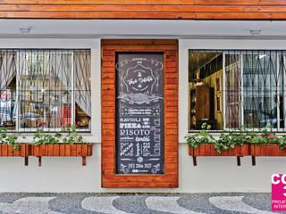 Empório e Pastifício Vovó Dilecta Espaços gastronômicos coloniais por Cor3D Projetos de Interiores Colonial