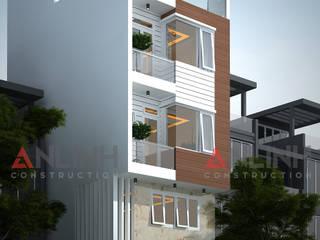 Mẫu nhà phố - LÂM THỊ KIM THOA:   by CÔNG TY THIẾT KẾ XÂY DỰNG AN LĨNH