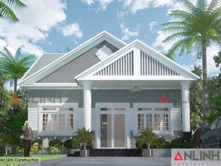 Công trình nhà ở  - NGUYỄN THỊ KIM NGỌC:   by CÔNG TY THIẾT KẾ XÂY DỰNG AN LĨNH