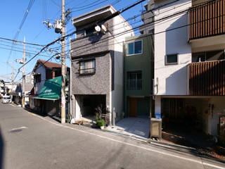 阿倍野の住宅 / 狭小間口の3階建て住宅: 一級建築士事務所 Coo Planningが手掛けた家です。,